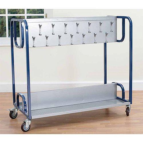 Classroom Cloakroom Trolley (stores 30 coats)