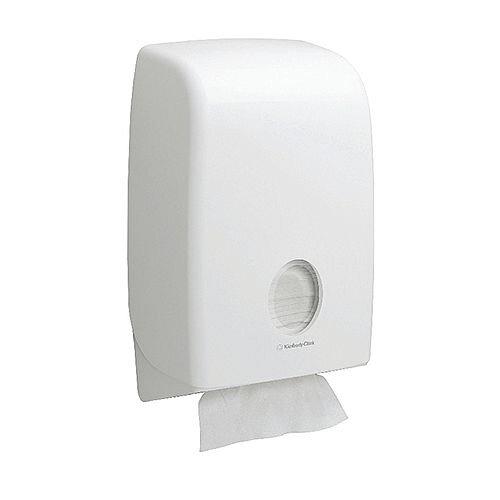 Kimberly-Clark Aqua Paper Hand Towel Dispenser White 6945 W265xD136xH399mm