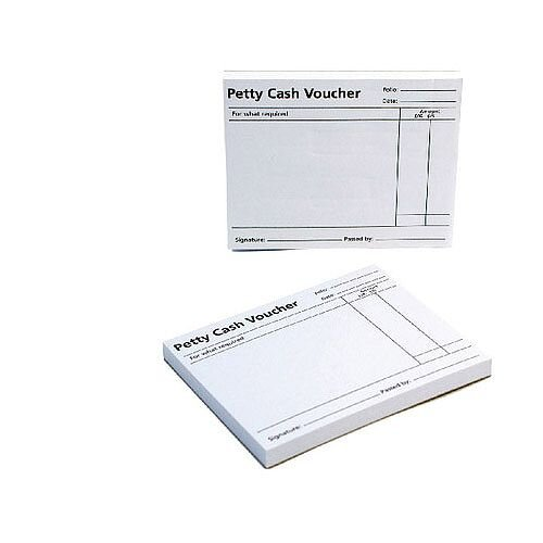 Q-Connect Petty Cash Voucher Pad KF00103
