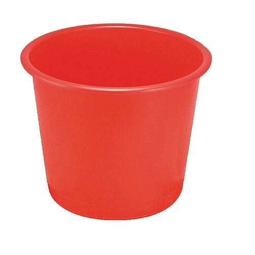 Q-Connect Waste Bin 15 Litre Red KF01128