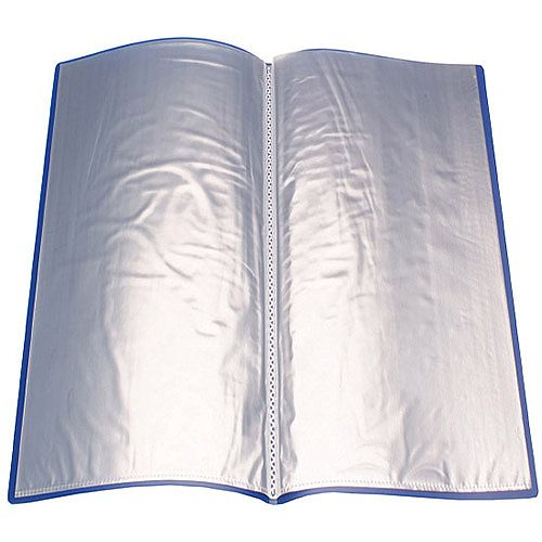 Display Book 10-Pocket Blue Q-Connect