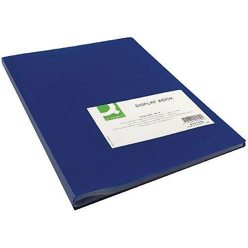 Display Book 40-Pocket Blue Q-Connect