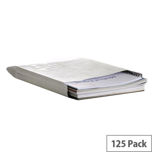 Q-Connect Gusset C4 Envelopes Peel and Seal 120gsm White Pack of 125