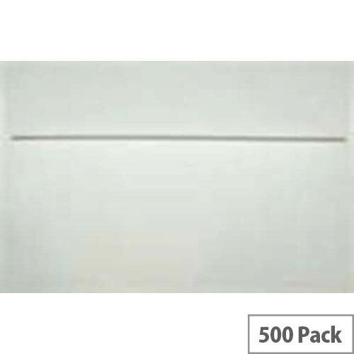 Q-Connect Machine Wallet Envelopes 162x238mm 90gsm Gummed White Pack of 500