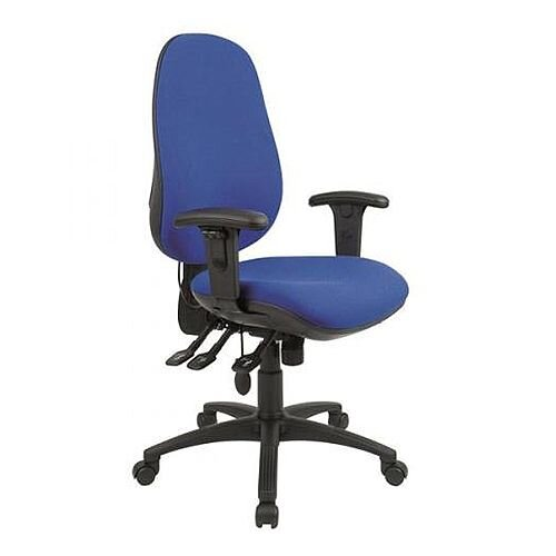 Cappela High Back Ergonomic Posture Office Chair Blue KF03494