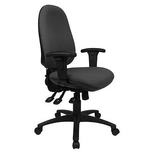 Cappela High Back Ergonomic Posture Office Chair Black KF03496