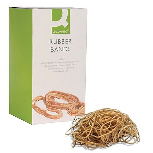 Q-Connect Rubber Bands 500g Number 75