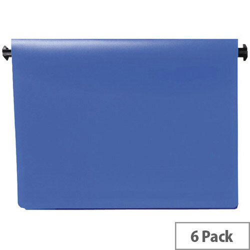 Q-Connect Printout Binder 395x305mm Blue Pack of 6 KF11021