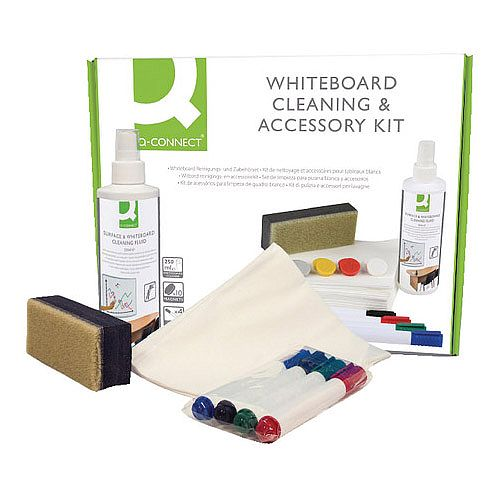 Whiteboard Cleaning and Accessory Kit Q-Connect
