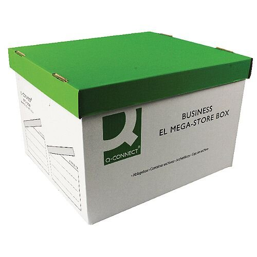 Q-Connect Business EL Mega Store Box 383x430x295mm 10 Pack