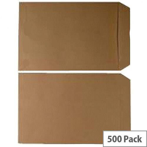 Q Connect Envelopes C5 70gsm Manilla Gummed Pack of 500