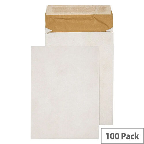 Q-Connect E4 Padded Gusset Envelopes White 400x280mm Pack of 100