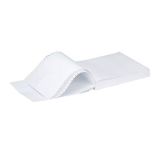 Q-Connect Listing Paper 11 inches x370mm 1-Part 70gsm Music Ruled Pack of 2000 50073