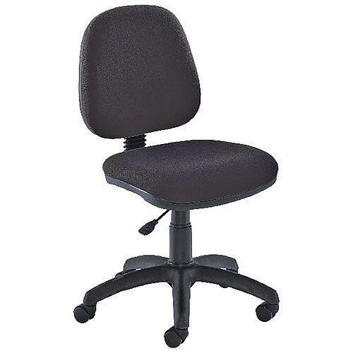 Jemini Medium Back Task Operators Office Chair Charcoal
