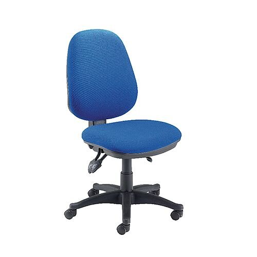 Jemini Plus Deluxe High Back Task Operator Office Chair Blue