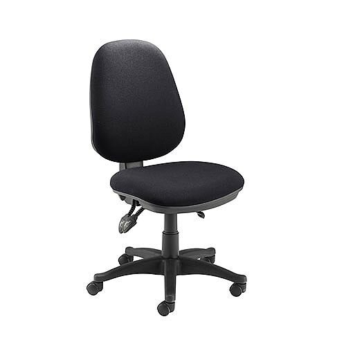 Jemini Plus Deluxe High Back Task Operator Office Chair Charcoal