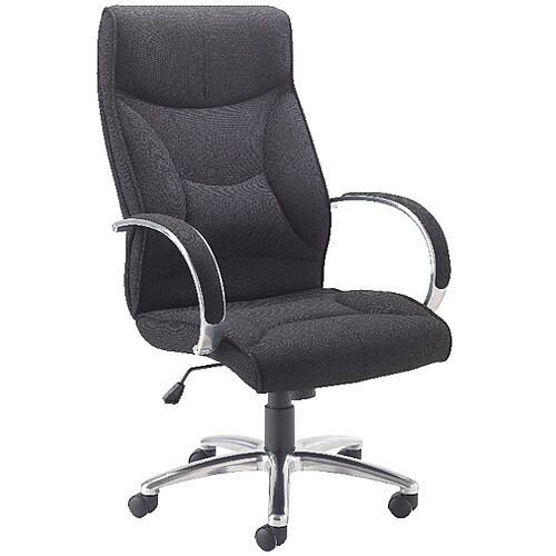 Avior High Back Executive Office Chair Black KF74187