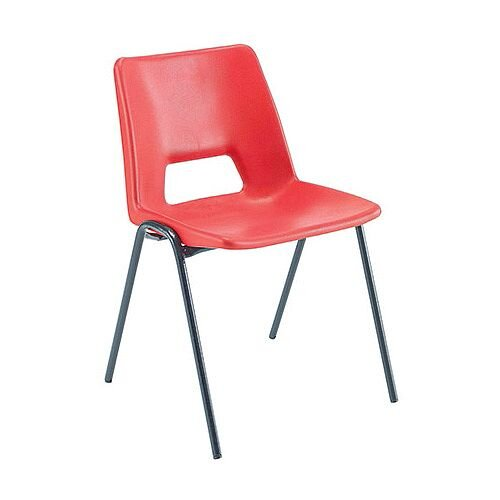 Jemini Classroom Chair Red 260mm