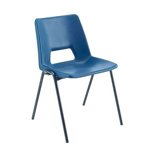 Jemini Classroom Chair Blue 430mm