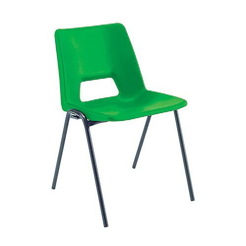 Jemini Classroom Chair Green 260mm