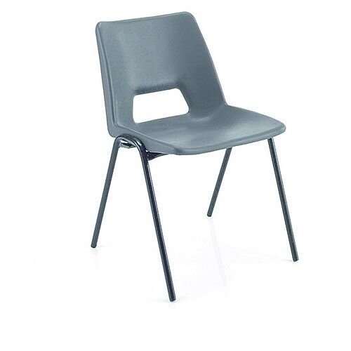 Jemini Classroom Chair Charcoal 260mm