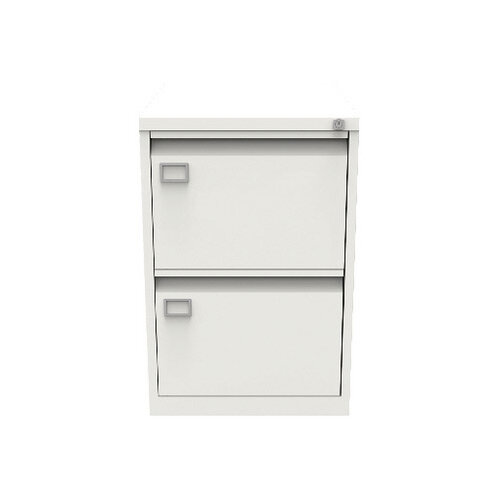 Jemini Filing Cabinet 2 Drawer White KF78706