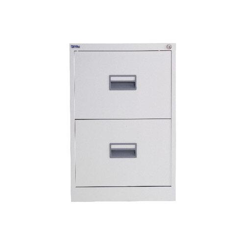 Talos 2 Drawer Steel Filing Cabinet White KF78765