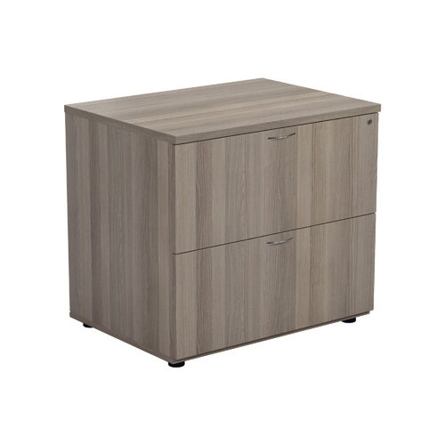Jemini Grey Oak 2 Drawer Side Filer KF78953
