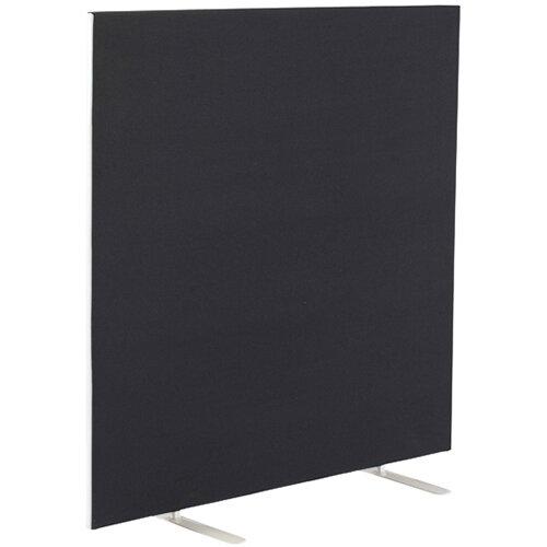 Jemini Black 1600x1200mm Floor Standing Screen KF79009