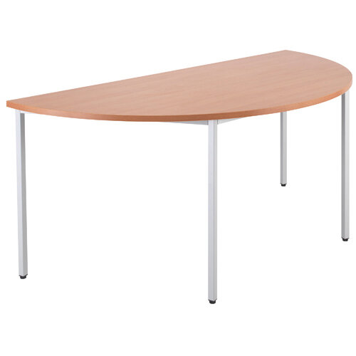 Jemini Beech Semi Circular Table W1600mm KF79030