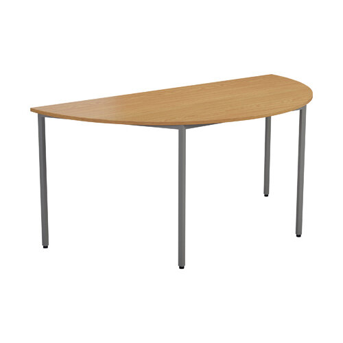 Jemini Oak Semi Circular Table W1600mm KF79031