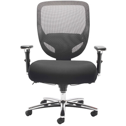 Avior Congo Big and Tall Heavy Duty Office Chair Black KF79140
