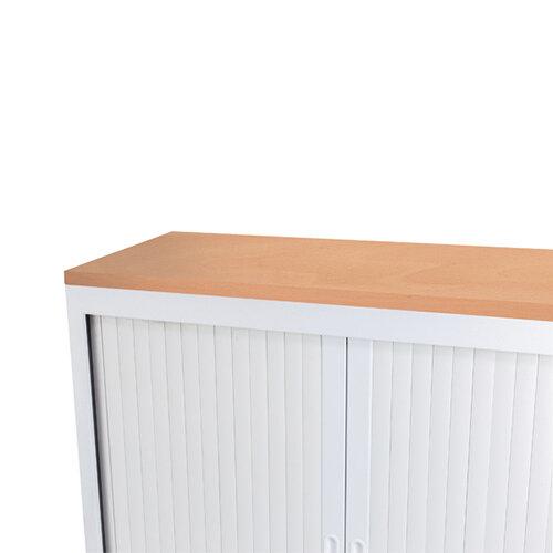 Talos Tambour Wooden Top Beech W1000 x D450 x H25mm TCS-TAM-TOPBE
