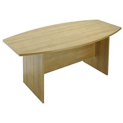 Avior 2400mm Boardroom Table Natural