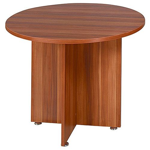 Avior 1200mm Round Meeting Table Cherry