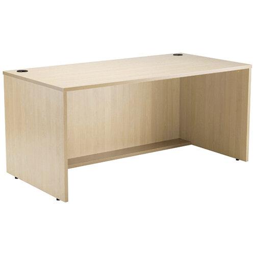 Jemini Modular Reception Desk Straight Base Unit Maple W1600xD800xH740mm 1600MASAMA