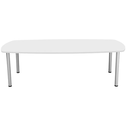 Jemini White 1800mm Boardroom Table KF840189