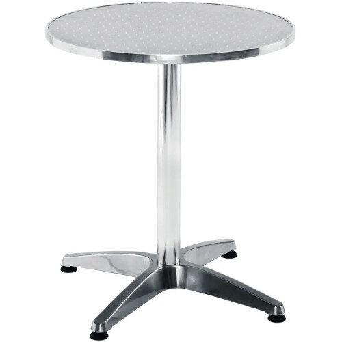 Aluminium 800mm Round Outdoor Cafe &Bistro Table