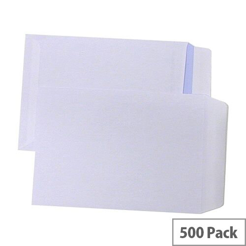 Q-Connect Pocket Envelopes C5 90gsm Self-Seal White Pack of 500 KF97367