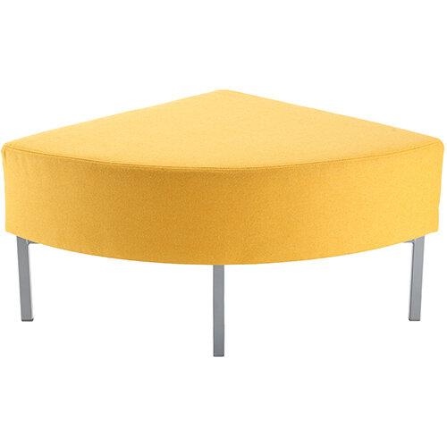 Kraft modular soft seating corner unit fully upholstered - made to order