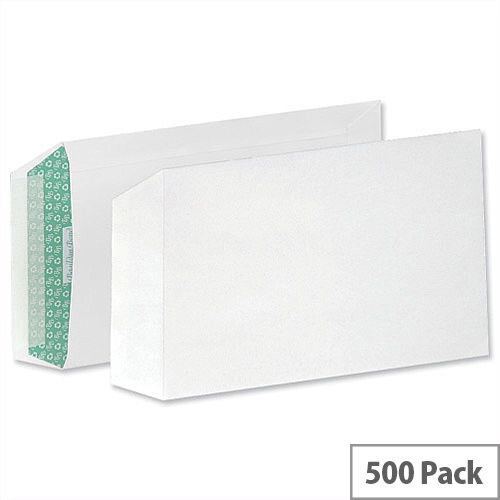 Basildon Bond C5 White 100gsm Envelopes Peel and Seal Pocket Pack 500 Ref L80118