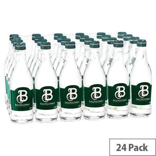 Ballygowan Sparkling Water Glass Bottle 330ml Pack of 24