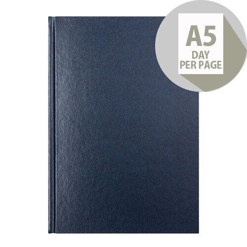 Letts 11X Blue A5 Day Per Page Diary 2020 20-T11XBL