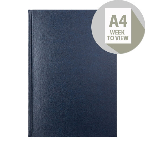 Letts 31Z Blue A4 Week to View Diary 2020 20-T31ZBL