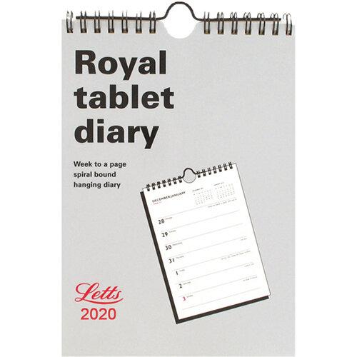 Letts Royal Tablet Calendar 2020 20-TRT