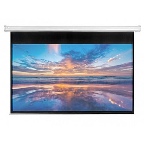 Franken ValueLine Electric Roll-up Projector Screen W2400 x H1350mm