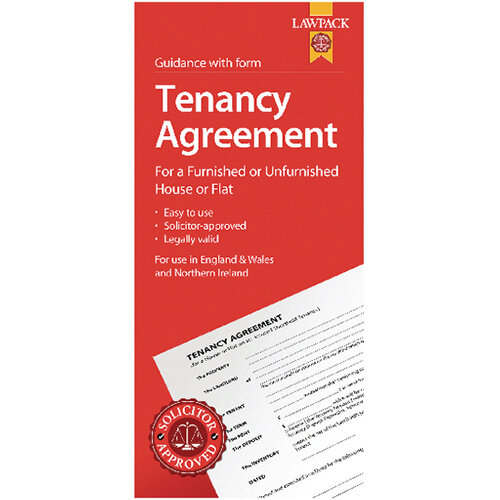 LawPack Tenancy Agreement Pack of 5 TM8813
