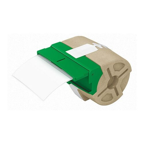 Leitz Icon White Pre-Cut Paper Label Roll 50mmx88mm 435 Labels 70180001 Pack of 4