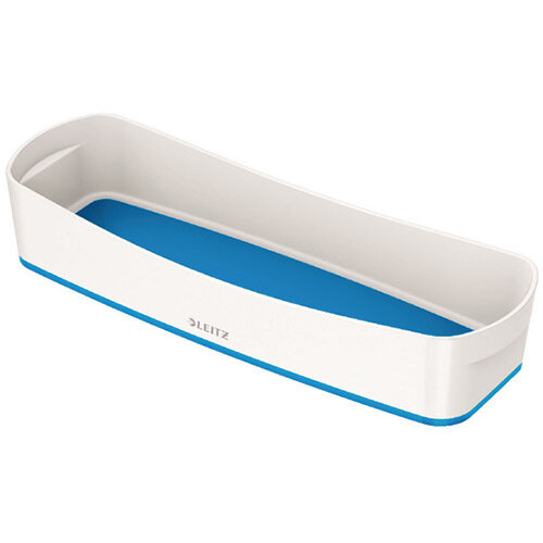 Leitz MyBox Organiser Tray Long White/Blue 52581036