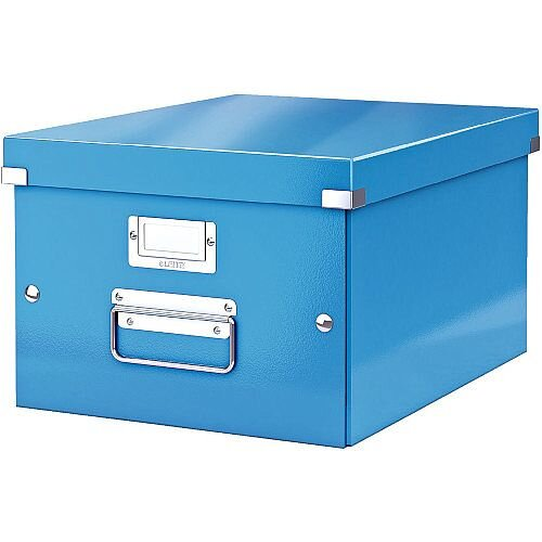 Leitz Click Store Medium Storage Box Blue 60440036